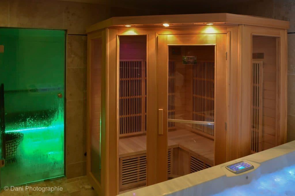 Sauna Infra rouge Spa 5 Sens
